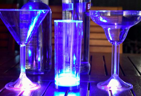 Vasos luminosos